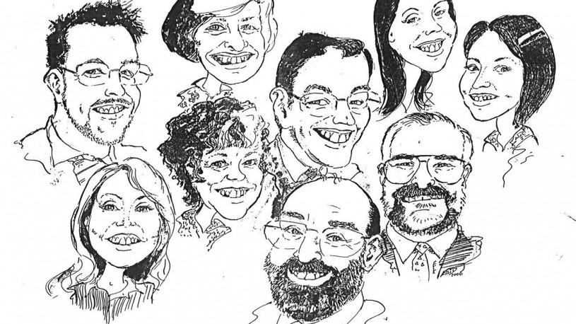 Elsi D Caricatures
